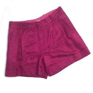 Catherine Malandrino Hot Pink Shorts